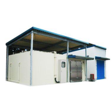 プレハブ式防爆冷凍・冷蔵室